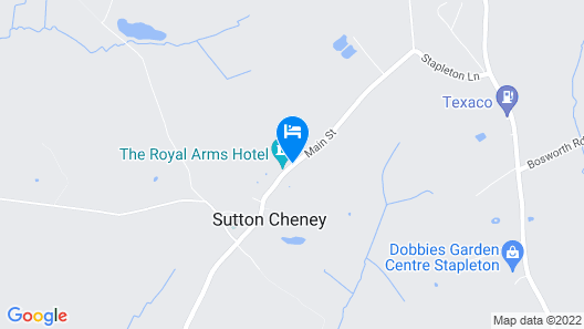 The Royal Arms Hotel Map