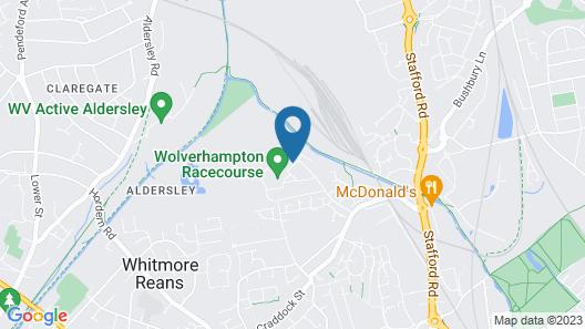 Holiday Inn Wolverhampton - Racecourse Map