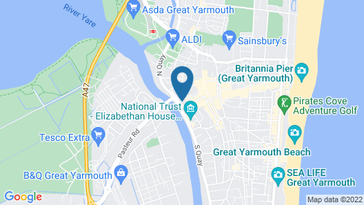 Star Hotel Map