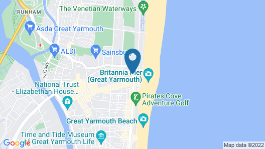 The Prom Hotel Map
