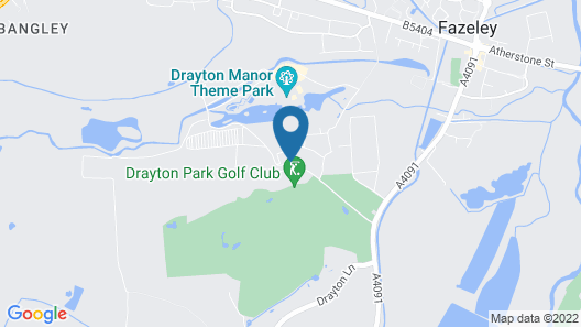 Drayton Manor Hotel Map