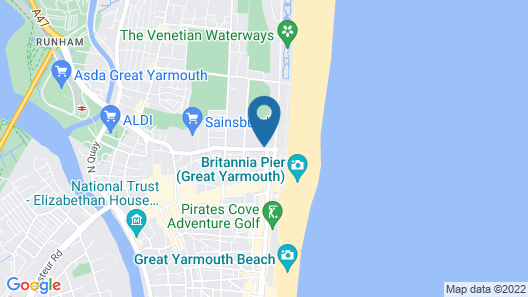 Marine Lodge Map
