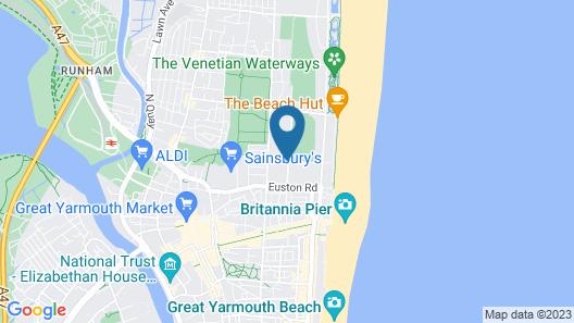 Elmfield Guest Accommodation Map
