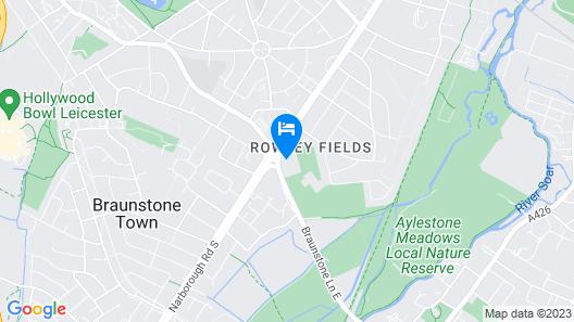 Premier Inn Leicester Fosse Park Map