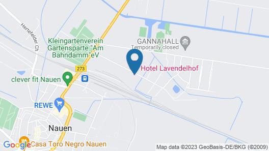 Hotel Lavendelhof & Eselhof Nauen Map