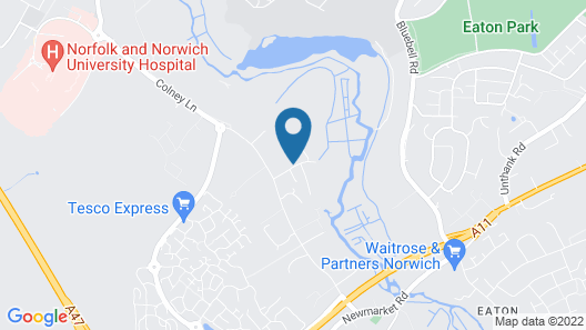 Cringleford Guest House Map
