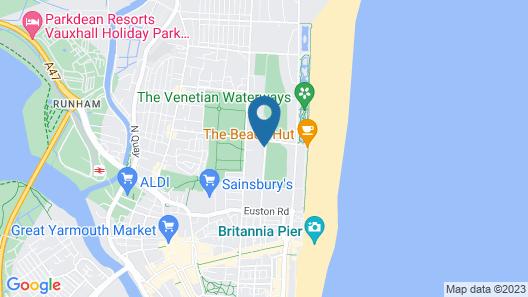 Wellesley Park Hotel Map