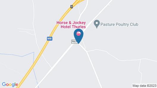 Horse and Jockey Hotel Map