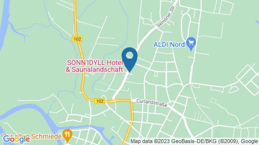 SONN IDYLL Hotel & Saunalandschaft Map