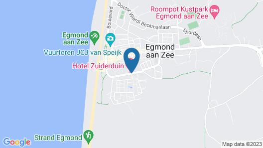 Hotel Zuiderduin Map