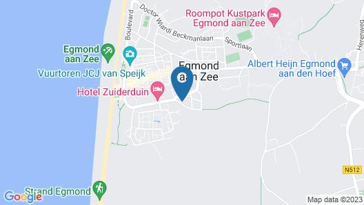 Hotel Neptunus Map