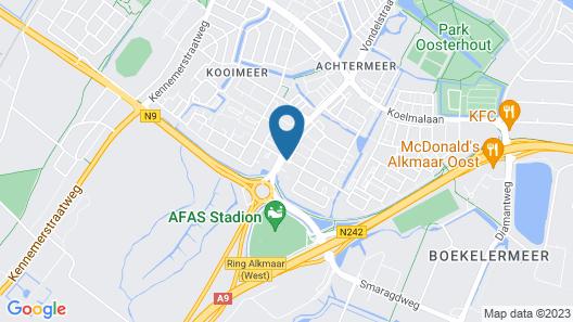 Golden Tulip Hotel Alkmaar Map