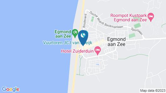 Hotel de Boei Map
