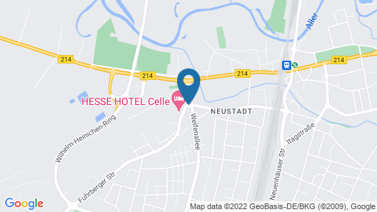 TRYP Celle Map