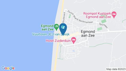 Fletcher Badhotel Egmond aan Zee Map