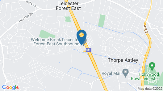 Days Inn by Wyndham Leicester Forest East M1 Map