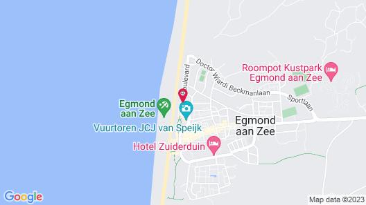 Strandhotel Golfzang Map