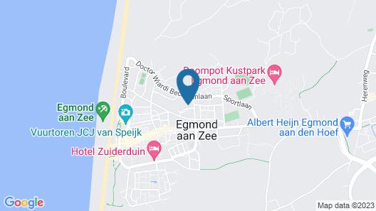 Hotel De Dennen Map