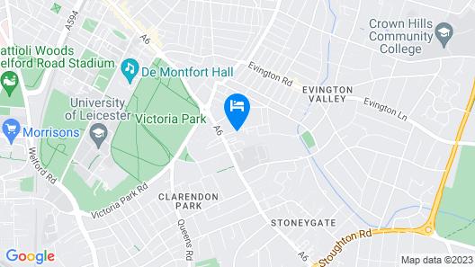Stoneycroft Hotel Map