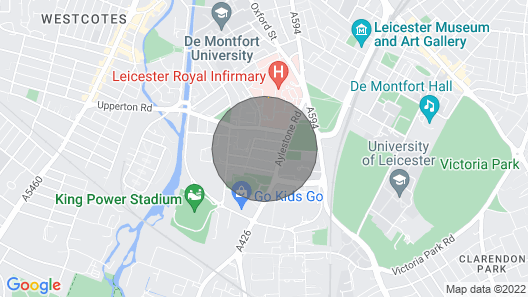 Tigers Townhouse - City Centre Close to both Stadiums Map