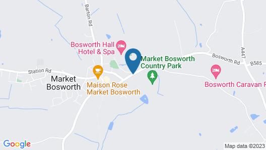 Bosworth Hall Hotel & Spa Map