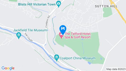 Telford Hotel & Golf Resort Map