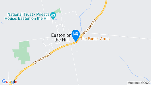 The Exeter Arms Map