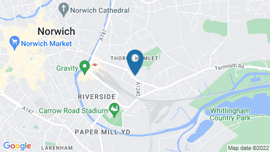 The Norwich Hotel Map