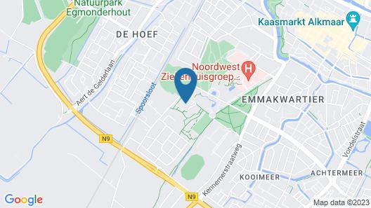The Fallon Hotel Alkmaar Map