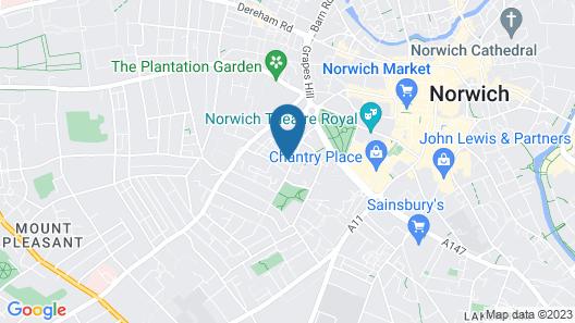 Vauxhall Apartments Map