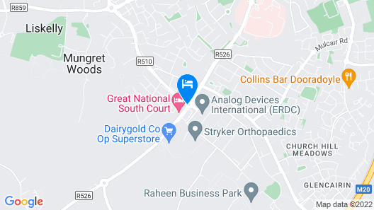 Great National South Court Hotel Map