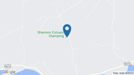 Shannon Estuary Glamping Map