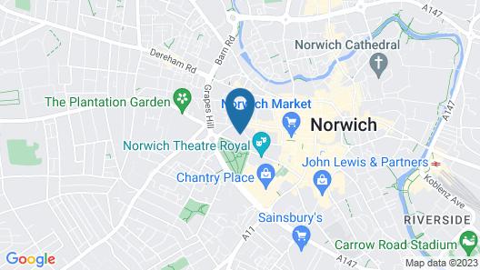 ?city Centre Norwich City Views ? Map