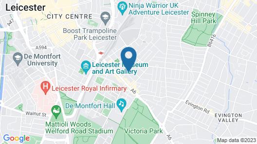 Grafton House B&B Map