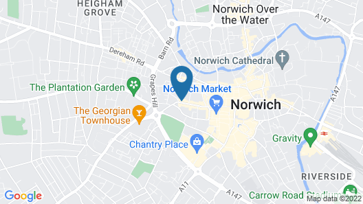 St Giles Serviced Apartments Map