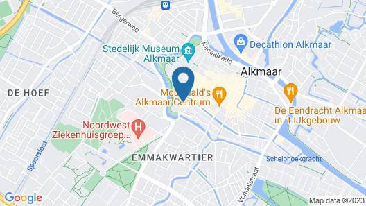 Apartment De Koning Map