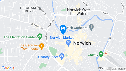 City Heights Central Norwich Map