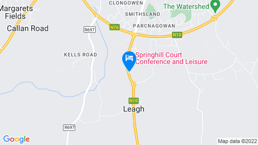 Springhill Court Hotel Map