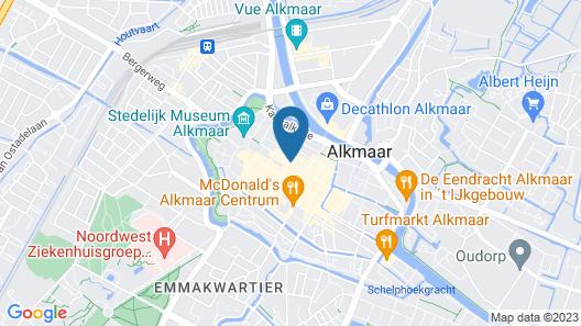 Grand Hotel Alkmaar Map