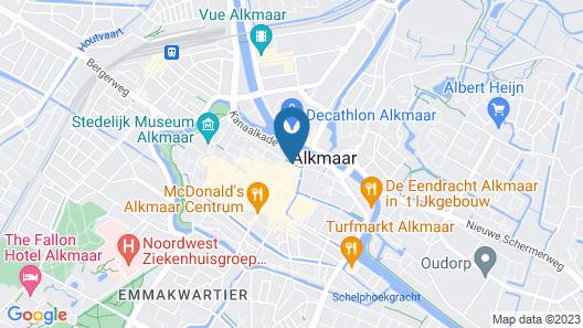 King's Inn City Hostel - Hotel Alkmaar Map