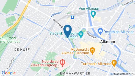 Amrâth Hotel Alkmaar Map