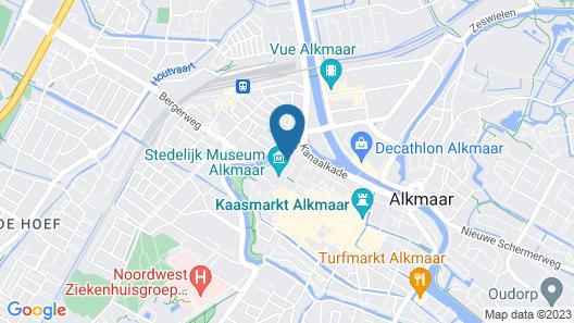College Hotel Alkmaar Map