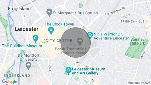 Sparkling Clean 2BR City Centre Apartment Map