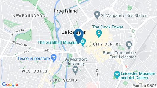 The Villare Hotel Map