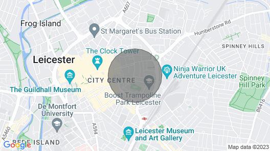 Open Plan Modern City Centre Apartment - Sleeps 4 Map