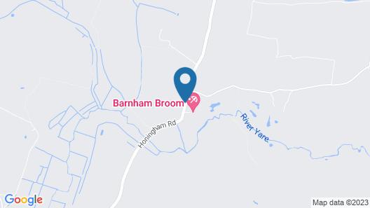 Barnham Broom Hotel, Golf & Spa Map