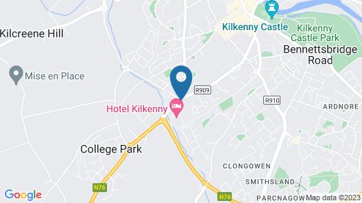 Hotel Kilkenny Map