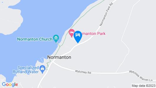 Best Western Normanton Park Hotel Map