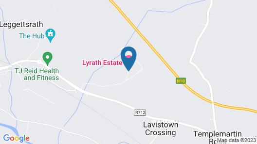 Lyrath Estate Hotel Spa & Convention Centre Map