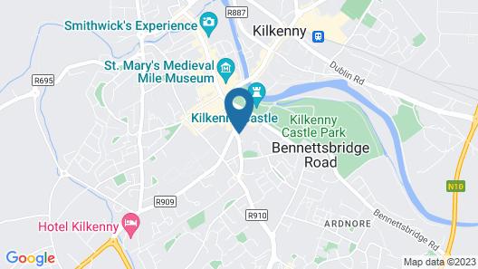 Butler House & Garden Map